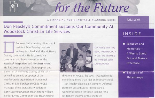 Article – WCLS Newsletter